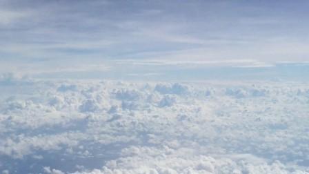 2017年8月 飞机上的云朵