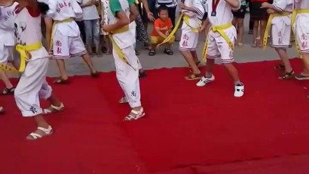 跆拳道舞蹈表演