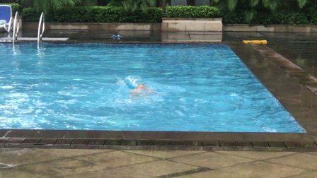 混合泳-仰泳