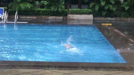混合泳-爬泳