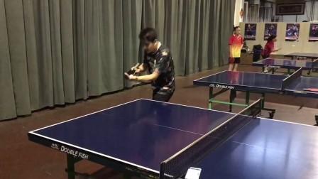 精英乒乓网天一同学转不转发球