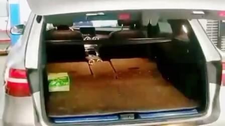 [TPSUV天派科技]奔驰GLC加装智能电动尾门 轻松驾驭后备箱!