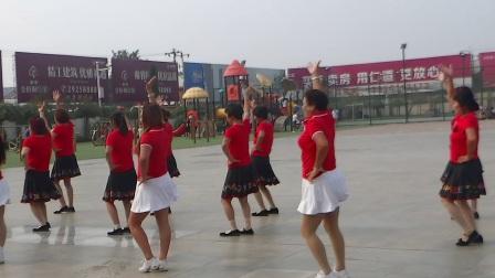宝坻区庆祝秀夕阳成立一周年-耶律各庄舞蹈队