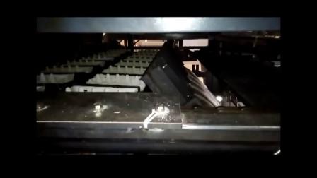 必硕科技纸浆模塑蛋盒热压-烘干-堆叠过程
