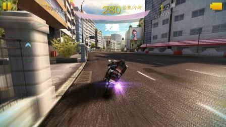 狂野飙车8多人赛(Suzuki GSX-R750摩托)决战伊帕内玛赛道视频