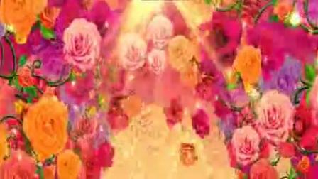 L2265-盛世花开 开场 舞蹈 鲜花 大气 喜庆LED大屏晚会舞台背景视频素材