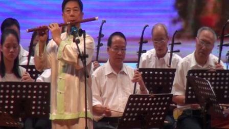 笛子协奏曲梁祝(笛子彭伯良)——龙川县民乐团