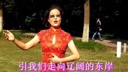 《希望从这里升起》3冯敏演唱/校林荣曲/赵丽宏刘必霖词