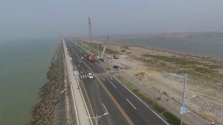 西大堤维修工程航拍视频-料场装料