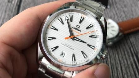 【评测】欧米茄海马系列220.10.41.21.02.001腕表  宇舶 沛纳海