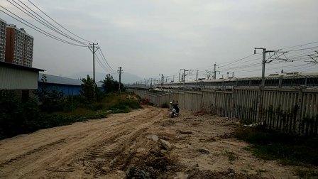 CRH5G试跑西成