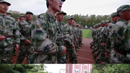 2017长春光华学院军训图片集