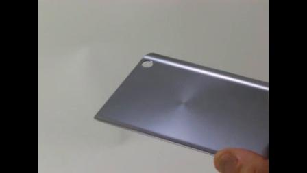 3D玻璃背蓋 同心圓髮絲紋噴印
