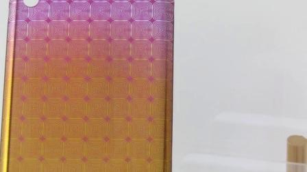 3D玻璃背蓋 金屬質感噴印