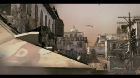 CG战争短片--主要负责模型和后期