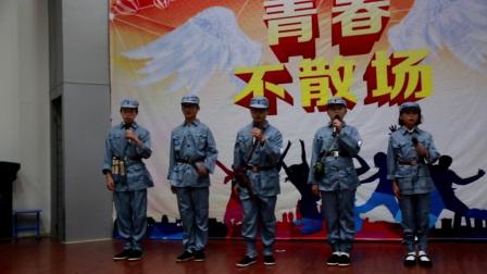 台州市书生中学初一迎国庆诗歌朗诵比赛