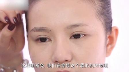 新娘妆教学视频简单易学的眉形塑造规则化妆教程