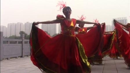 阳光丽人舞蹈《欢聚一堂》