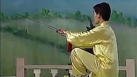 李德印42式太极剑教学视频(动作分解)_标清
