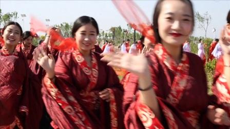 【汉衣坊作品】周礼文化.经典汉式婚礼.大型草坪汉式集体婚礼