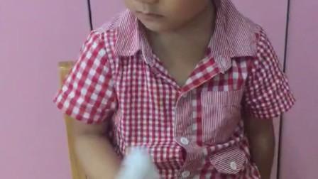 6.14号温州第一天上幼儿园 闹情绪