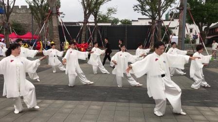 太极表演-水亭门