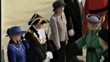 英国女王为林肯大学开幕