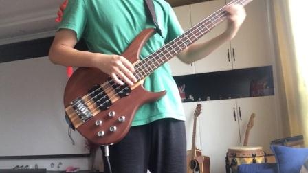 Bass cover 旺福 第二天弹bass请轻喷