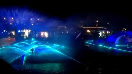 灵山小镇-拈花湾  灯光表演
