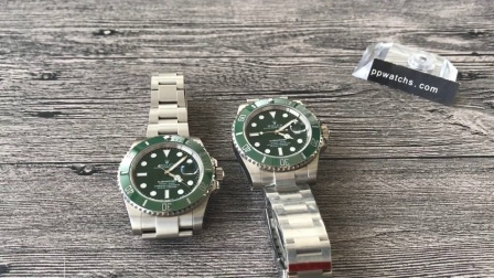 【评测】劳力士潜航者型系列116610LV-97200 绿盘腕表(绿水鬼)