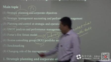 ACCA 徐开金老师 P5 第二章(1)试听课