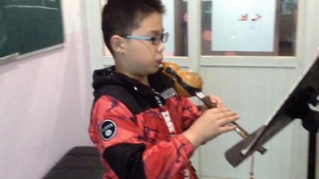 学生展示:葫芦丝独奏《竹林深处》