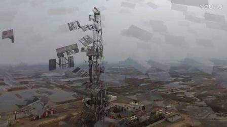 大疆精灵3s首拍-大港油田石油钻井现场