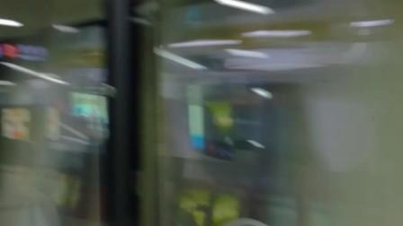 实拍 深圳地铁2号线 大剧院站列车进站瞬间