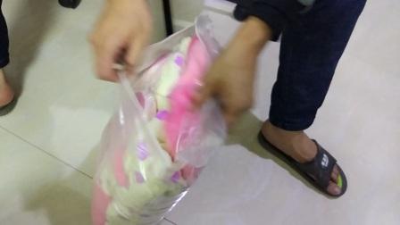 孕妇睡衣开箱视频质量真的很好还送了一双鞋子和袜子