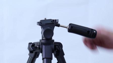 劲捷VT-930 便携单反三脚架 通用三角架 手机拍照摄影支架