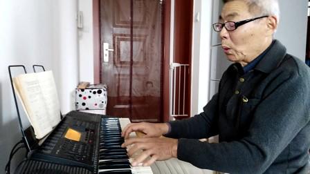 (中国男低音朱和荣翻唱)老人河