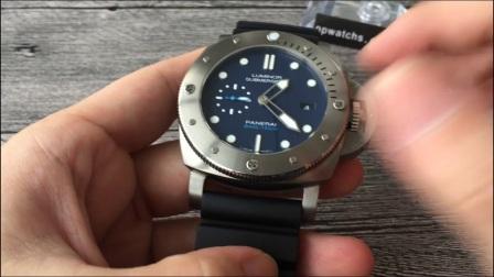 【评测】沛纳海LUMINOR 1950系列PAM00692(PAM00692)手表