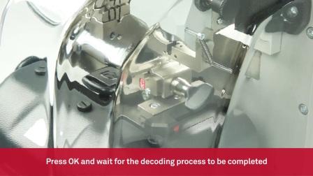 Keyline Ninja Total - 读齿和切割汽车铣槽钥匙Decode and cut of automotive laser keys