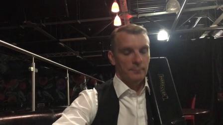 英格兰公开赛专访——戴维斯击败陈喆