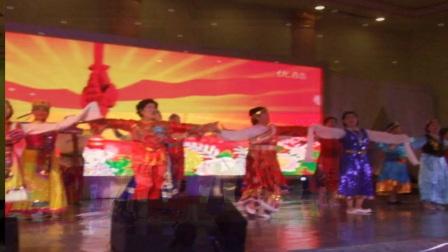 阳光艺术团与青松舞蹈队