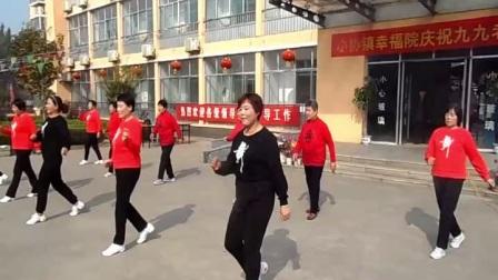 小协喜洋洋舞蹈队广场舞《你开心所以我快乐》