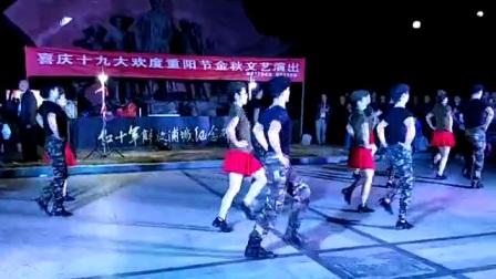 浦城参赛第一名水兵舞绚丽舞蹈队