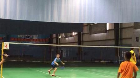 红山街羽毛球友谊赛