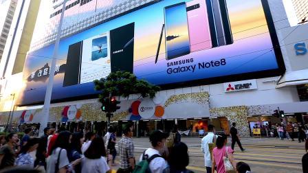 【LED广告屏幕】香港铜锣湾祟光百货 | POAD