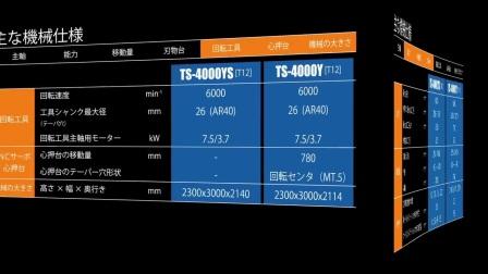 Takisawa泷泽车铣复合机 TS-4000YS(朱生 13592754339)