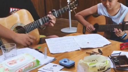 经典 我只在乎你  儿童吉他合奏