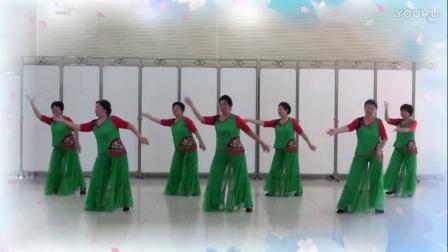 大汶口程程广场舞《离别的车站》编舞杨丽萍