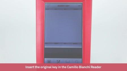 Keyline Camillo Bianchi Reader - 识别钥匙槽型