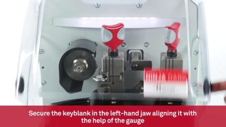 Keyline Ninja Dark - 使用快速复制功能配制平铣钥匙
